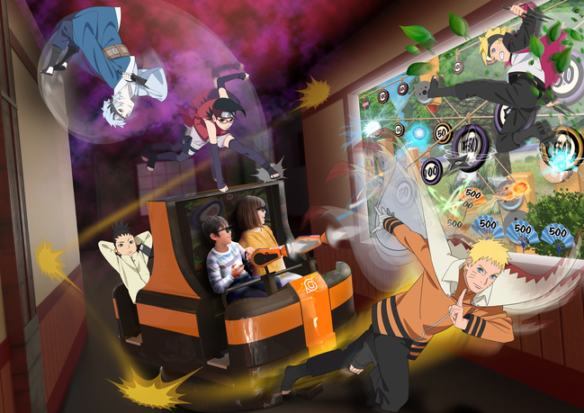 Naruto X Boruto Ninja Voltage 3D Shooting Ride